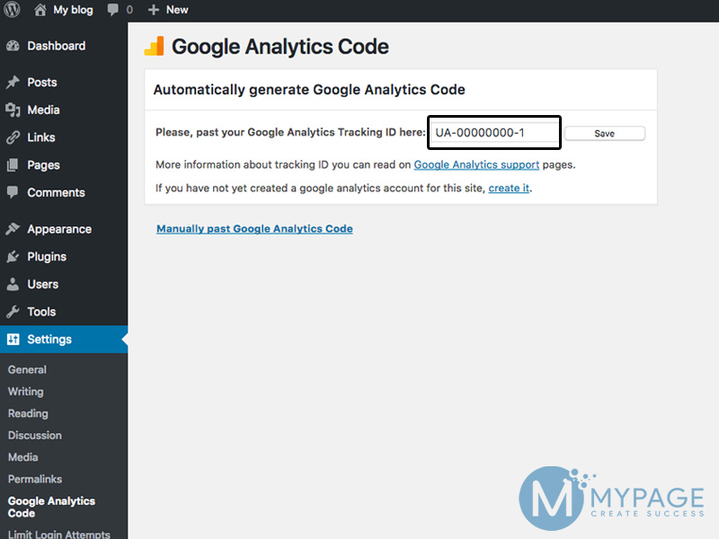 Chèn google analytics vào website bằng plugin