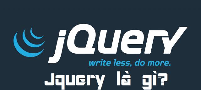 jquery là gì