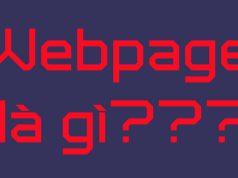 web page là gì