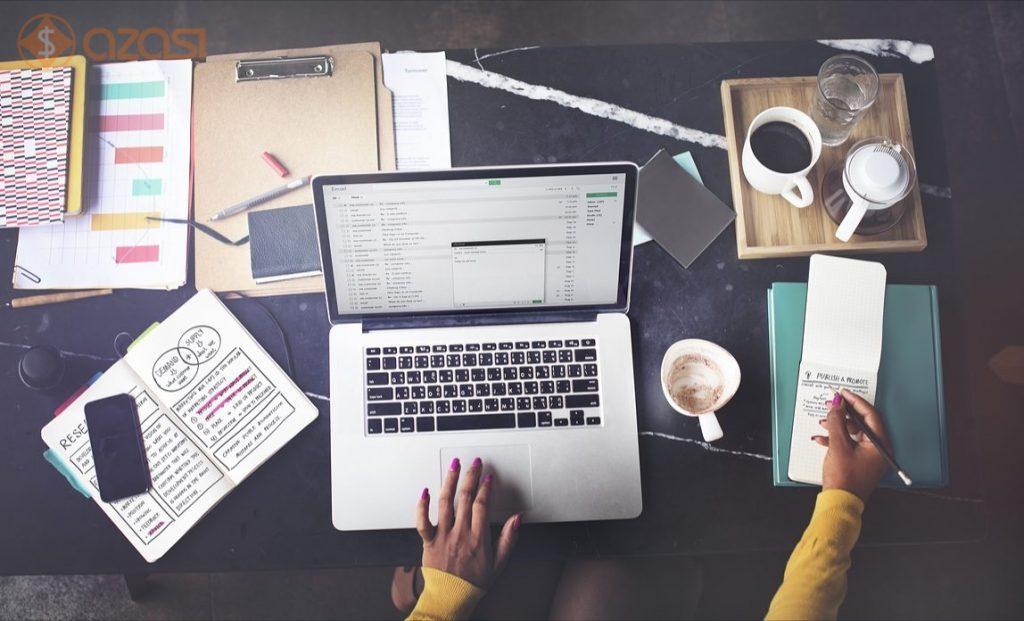 quy trình viết bài viết