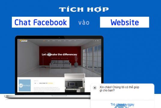 Hướng dẫn tích hợp chat facebook box chèn vào website