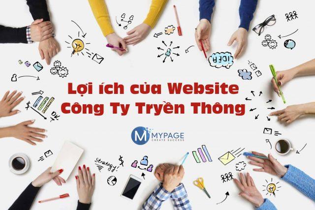 Lợi ích của việc thiết kế website công ty truyền thông